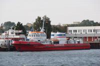 Feuerwehr Schiff Hafen Rostock