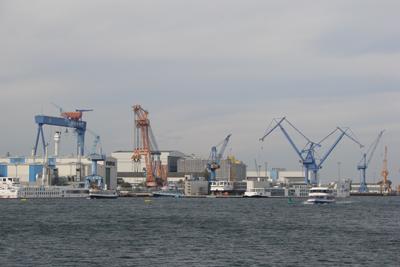 Neptun Werft Hafen Rostock