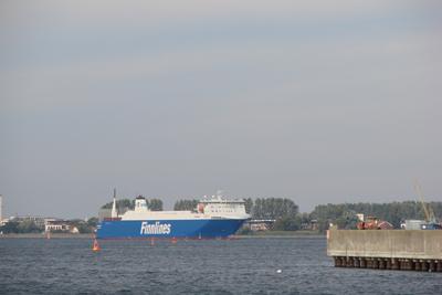 Ostseefähre Seehafen Rostock